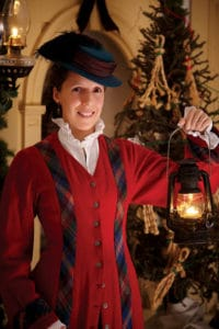 holiday lantern light tours at Mystic Seaport