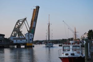 Mystic, CT River Bascule Bridge