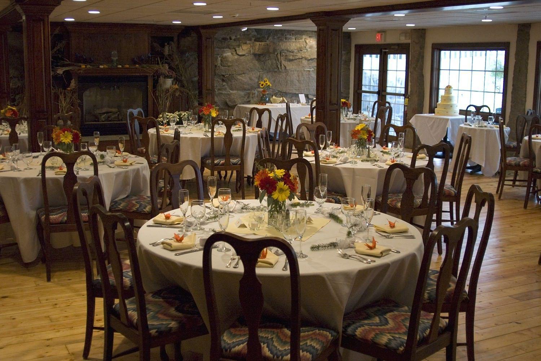 Fall Wedding at Stonecroft Country Inn near Mystic CT