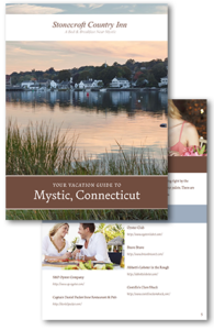 download a free vacation guide to Mystic Connecticut and the surrounding area