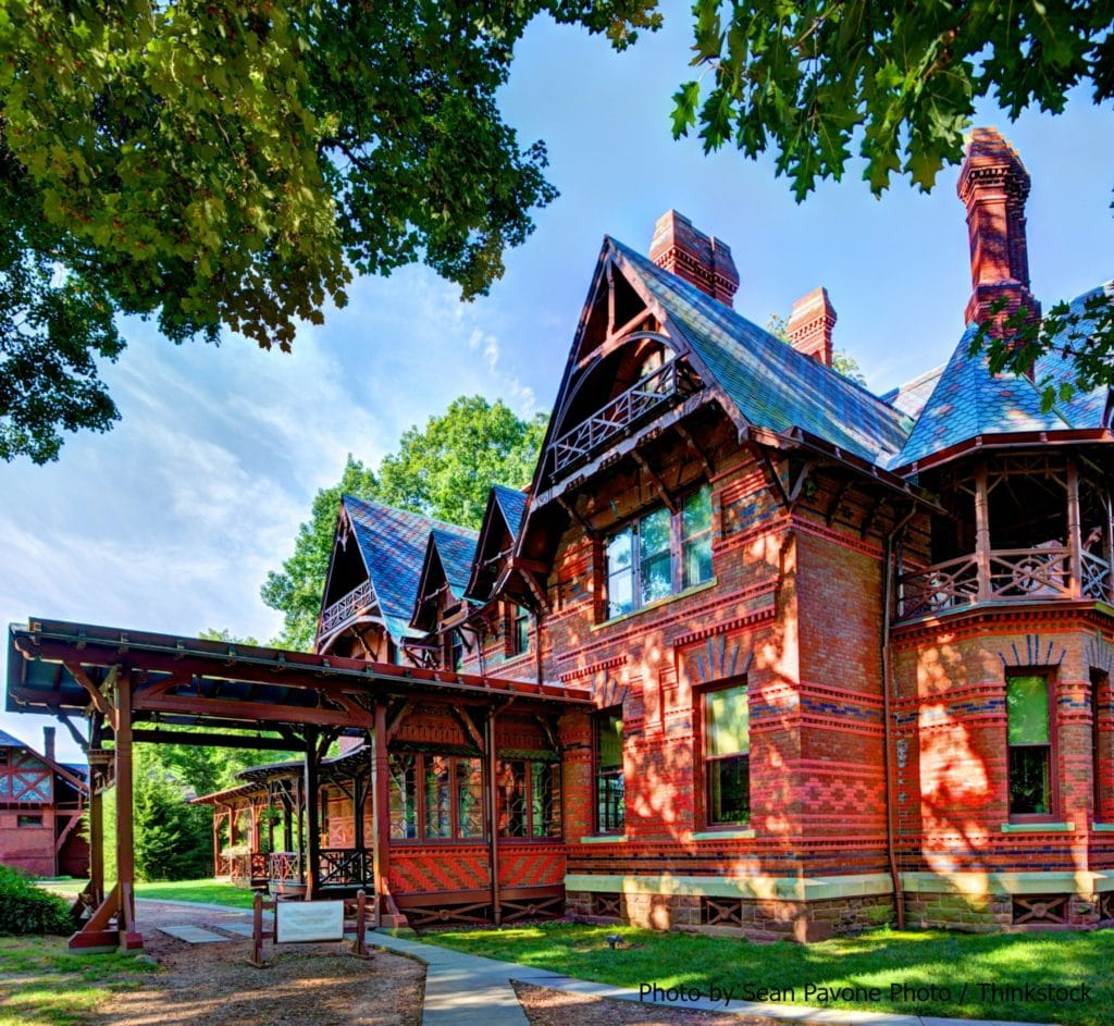 Visiting the Mark Twain House