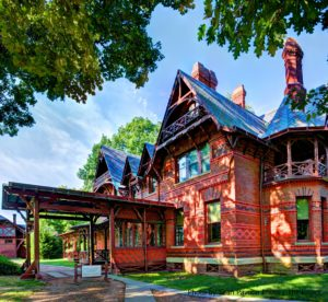 Visiting the Mark Twain House