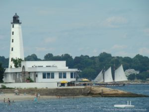 New Harbor Light is One of the Best Things to Do in New London, CT