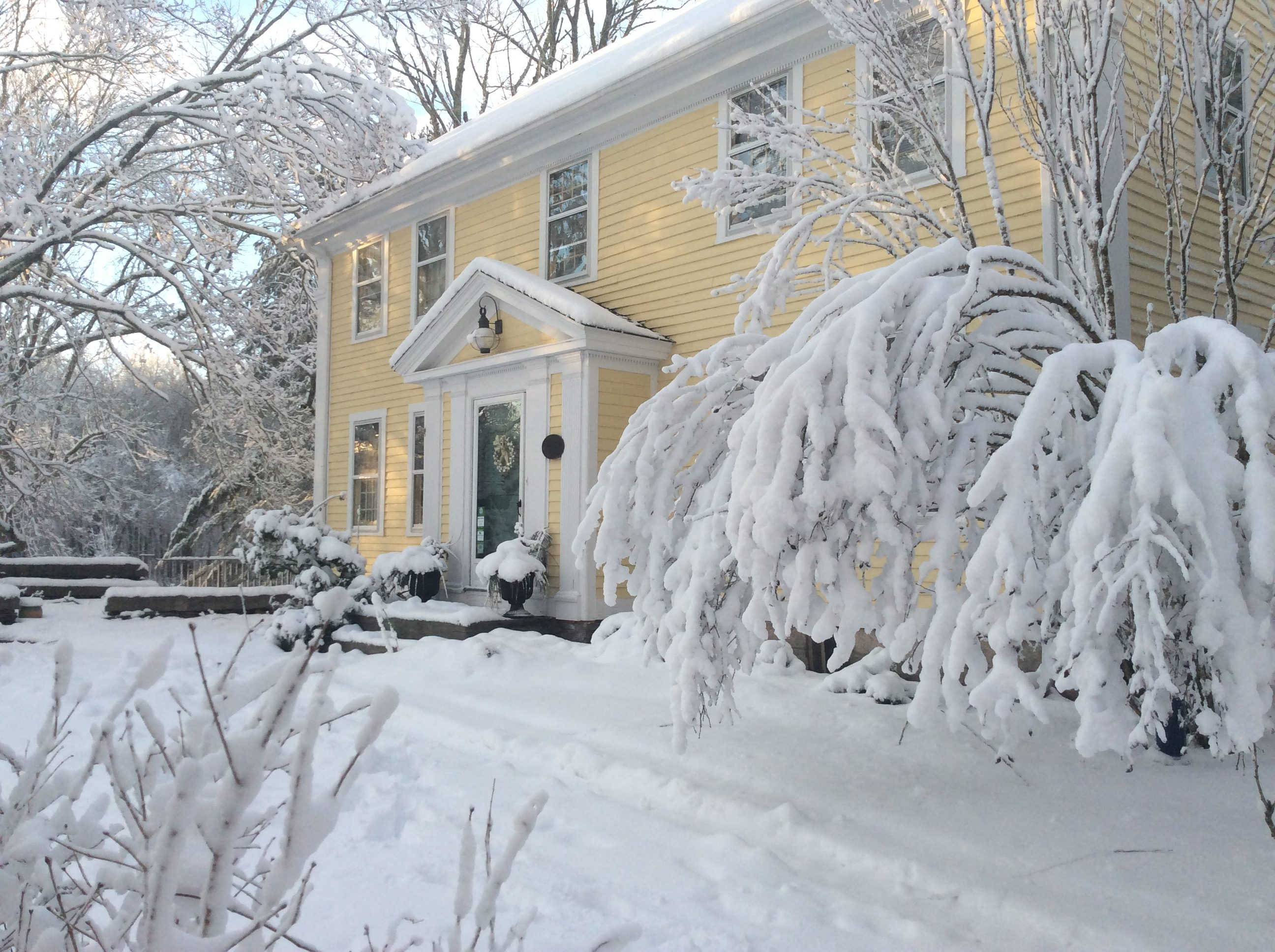 Staying in Stonecroft is one of things to do in Mystic CT in winter
