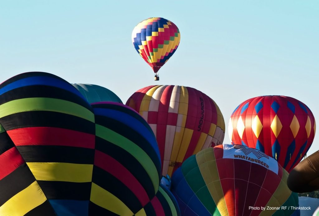 Hot Air Balloons in CT