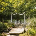 Stonecroft outdoor wedding - pondside option
